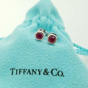 Tiffany & co Ruby by the yard earrings
